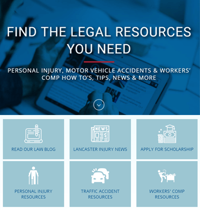Find Useful Tips and Tools in RG Injury Law's Lancaster Legal Resource Center