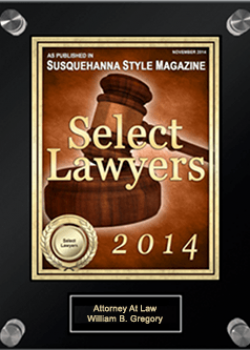 Select Lawyers Susquehanna Style Award