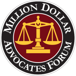 Million Dollar Advocates Forum Recognized RG Injury Law Rankin and Gregory LLC