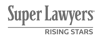 Super Lawyers Rising Star Award Recognizing RG Injury Law Rankin & Gregory LLC